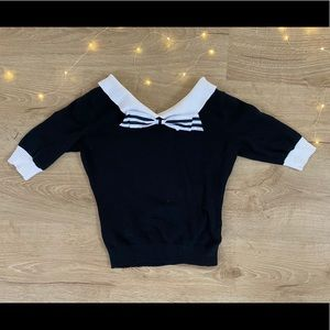 ModCloth Collectif Bow Sweater